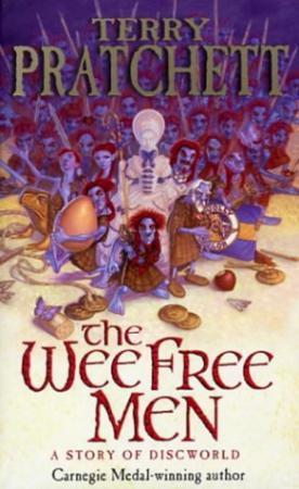 """""""The wee free men - a story of Discworld"""" av Terry Pratchett"""