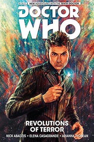 """""""Revolutions of Terror - (Doctor Who: The Tenth Doctor #1)"""" av Nick Abadzis"""