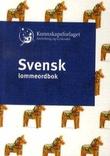 """""""Svensk lommeordbok svensk-norsk, norsk-svensk"""""""