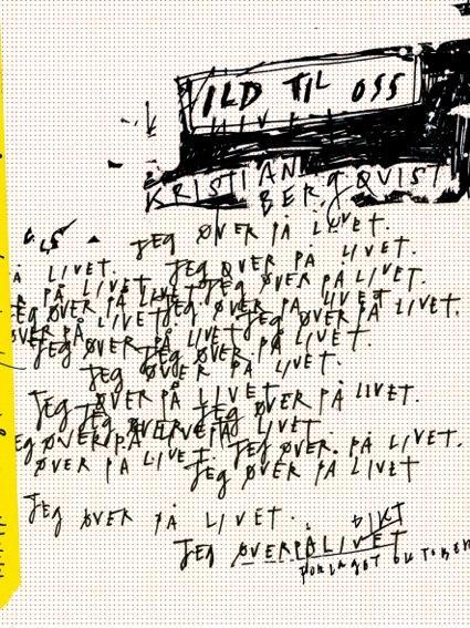 """""""Ild til oss"""" av Kristian Bergquist"""
