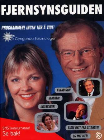 """""""Fjernsynsguiden - en komplett programoversikt presentert av De gyngende seismologer"""" av De gyngende seismologer"""