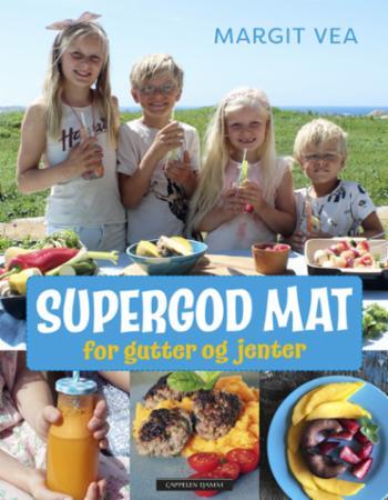 """""""Supergod mat for gutter og jenter"""" av Margit Vea"""