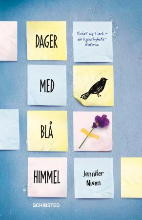 """""""Dager med blå himmel"""" av Jennifer Niven"""