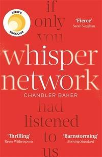 """""""Whisper network"""" av Chandler Baker"""
