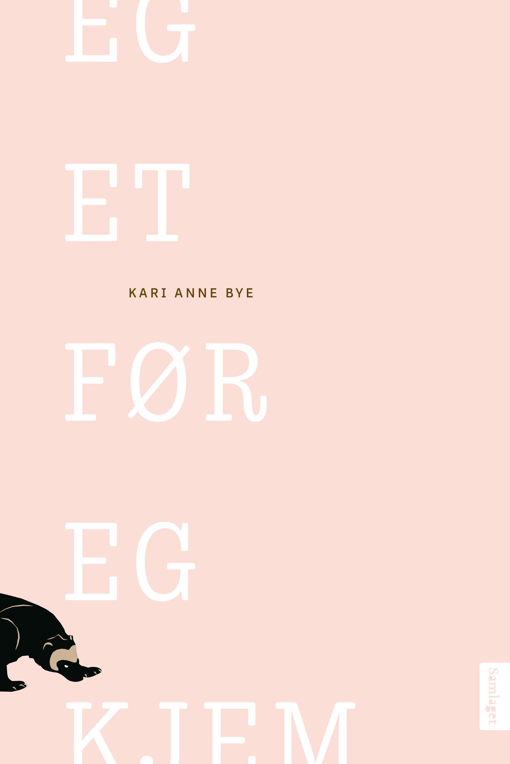 """""""Eg et før eg kjem - dikt"""" av Kari Anne Bye"""