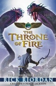 """The throne of fire"" av Rick Riordan"