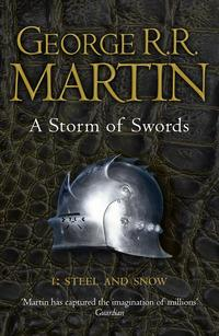 """""""A Storm of Swords - Steel and Snow (Reissue)"""" av George R. R. Martin"""