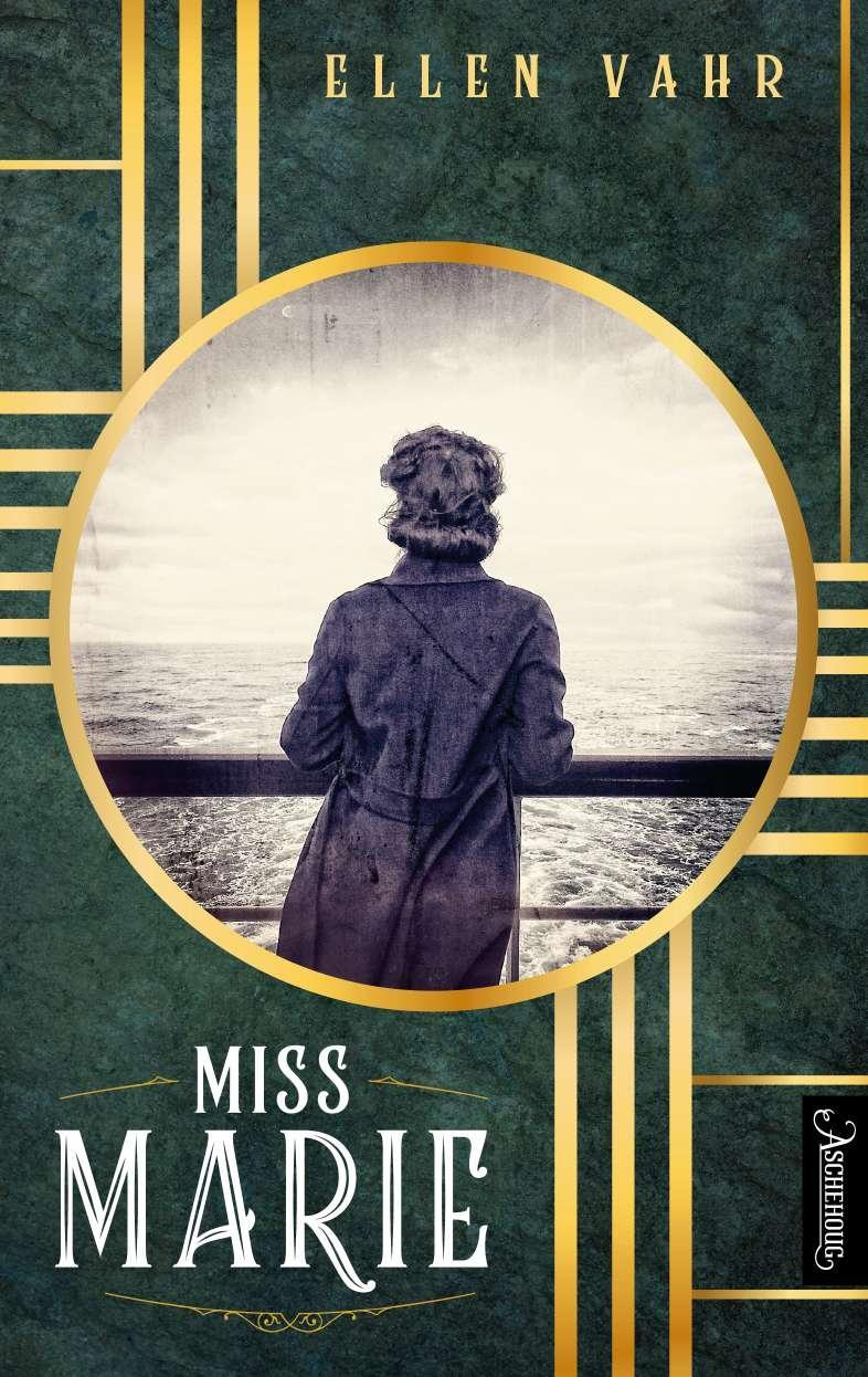 """""""Miss Marie - roman"""" av Ellen Vahr"""