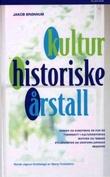 """""""Kulturhistoriske årstall"""" av Jakob Brønnum"""