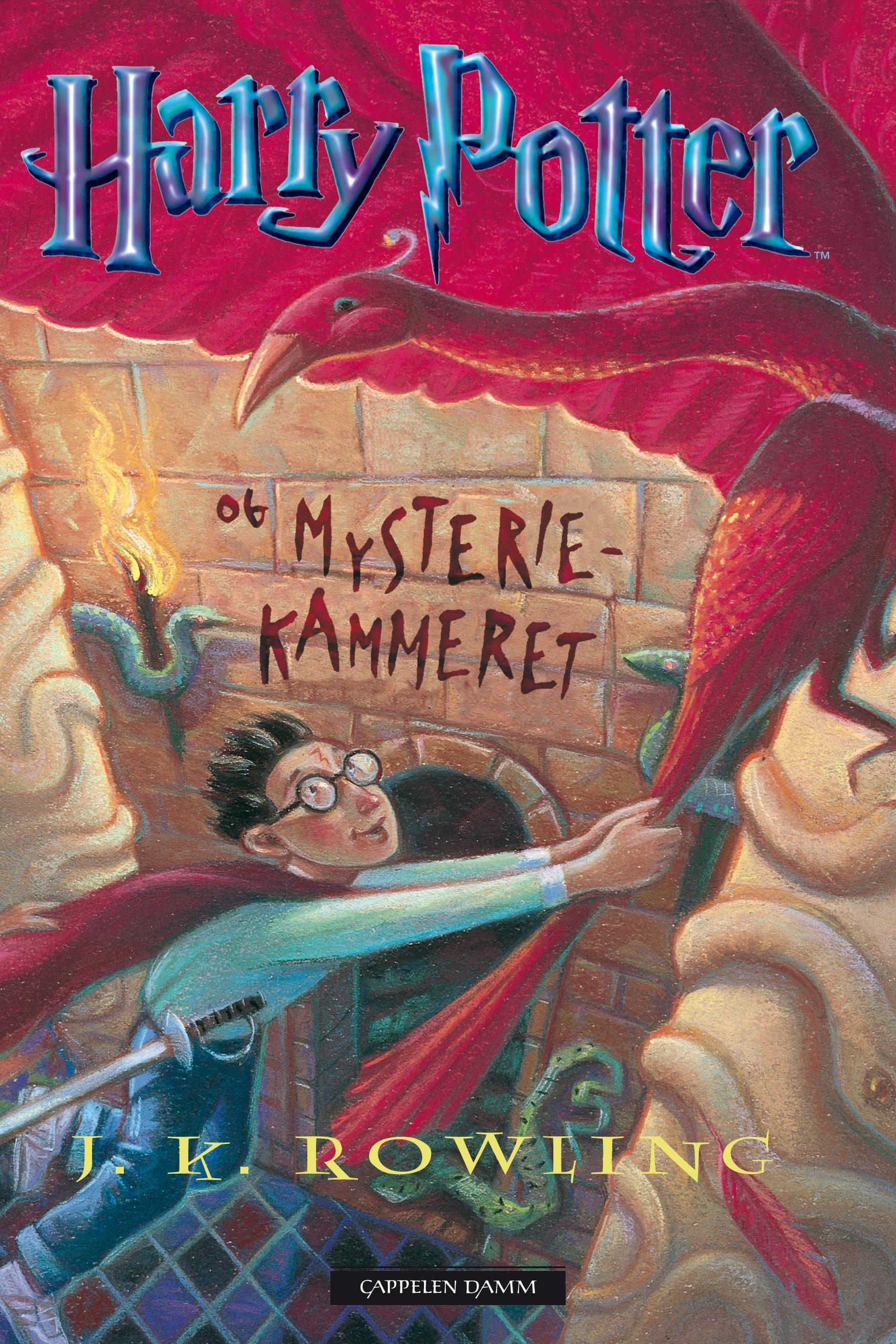 """""""Harry Potter og mysteriekammeret"""" av J.K. Rowling"""
