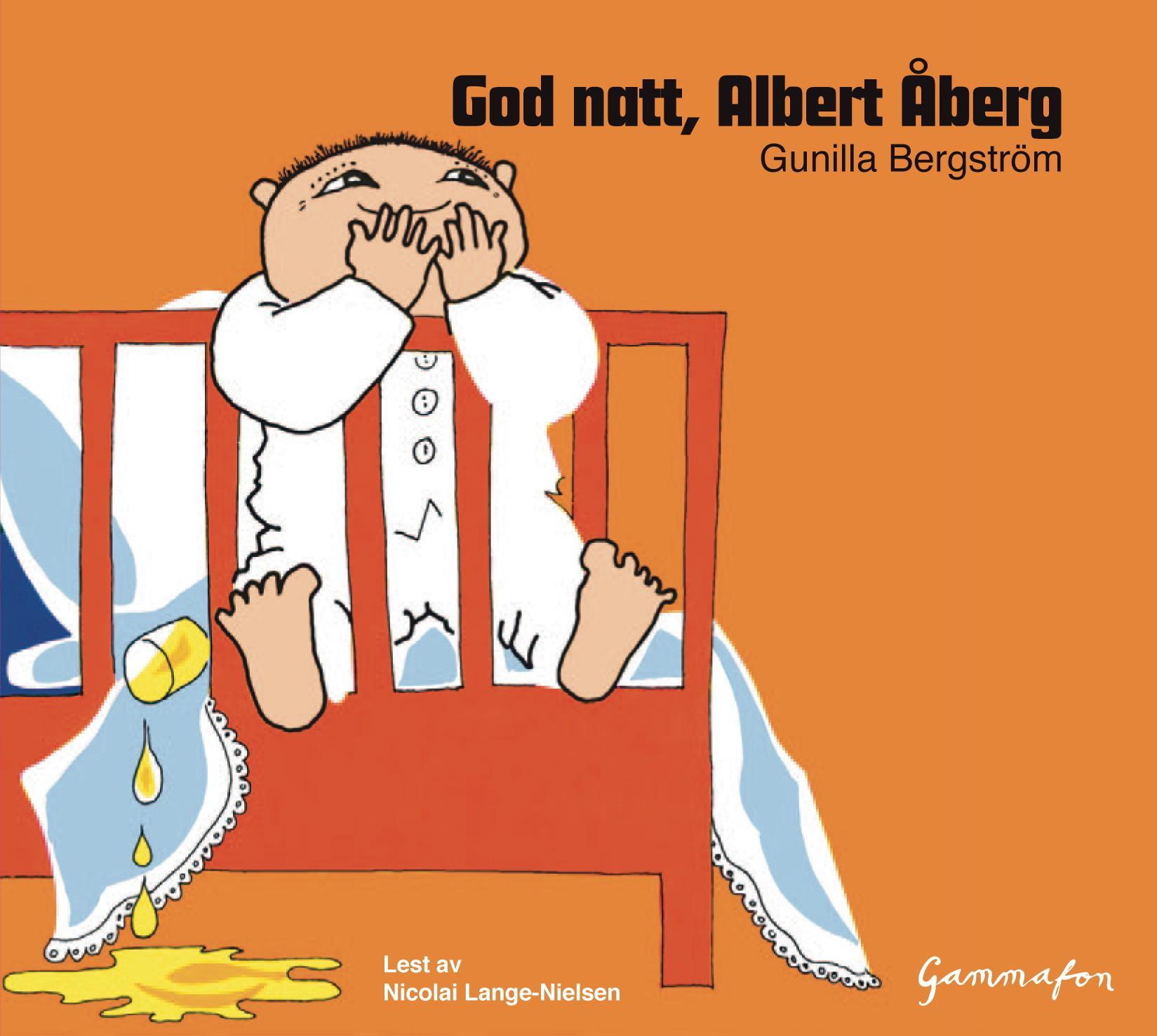 """""""God natt, Albert Åberg"""" av Gunilla Bergström"""