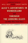 """Alice's adventures in Wonderland ; Through the looking glass, and  what Alice found there"" av Lewis Carroll"