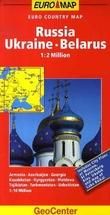 """Russia, Ukraine, Belarus - euro country map"""