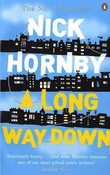 """A long way down"" av Nick Hornby"