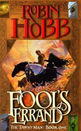 """""""Fool's errand"""" av Robin Hobb"""