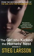 """""""The girl who kicked the hornets' nest"""" av Stieg Larsson"""