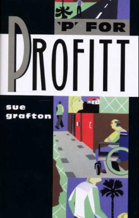 """""""P for profitt"""" av Sue Grafton"""