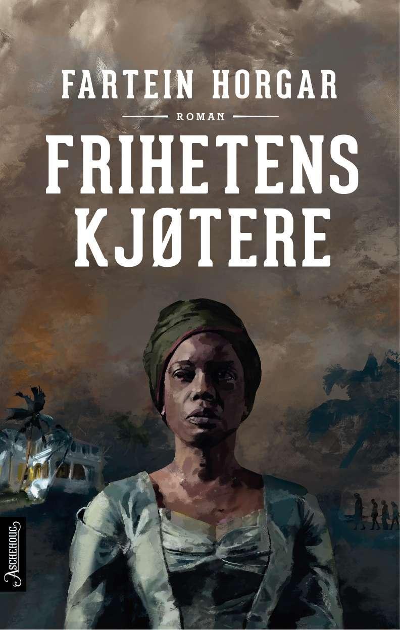 """""""Frihetens kjøtere - roman"""" av Fartein Horgar"""