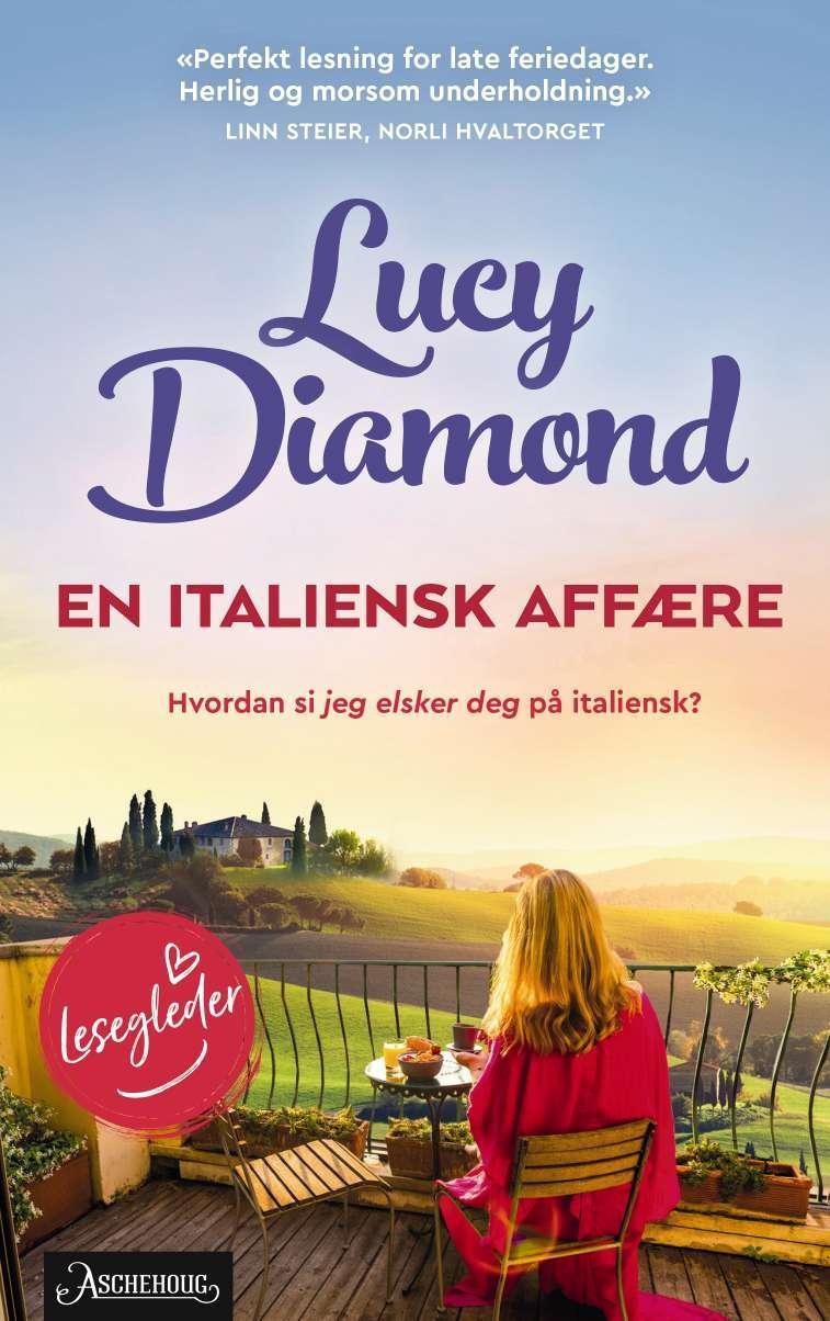"""""""En italiensk affære"""" av Lucy Diamond"""