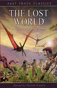 """""""The lost world - being the account of the recent amazing adventures of professor George E. Challenger, Lord John Roxton, professor Summerlee, and Mr. E.D. Malone of the Daily Gazette"""" av Arthur Conan Doyle"""