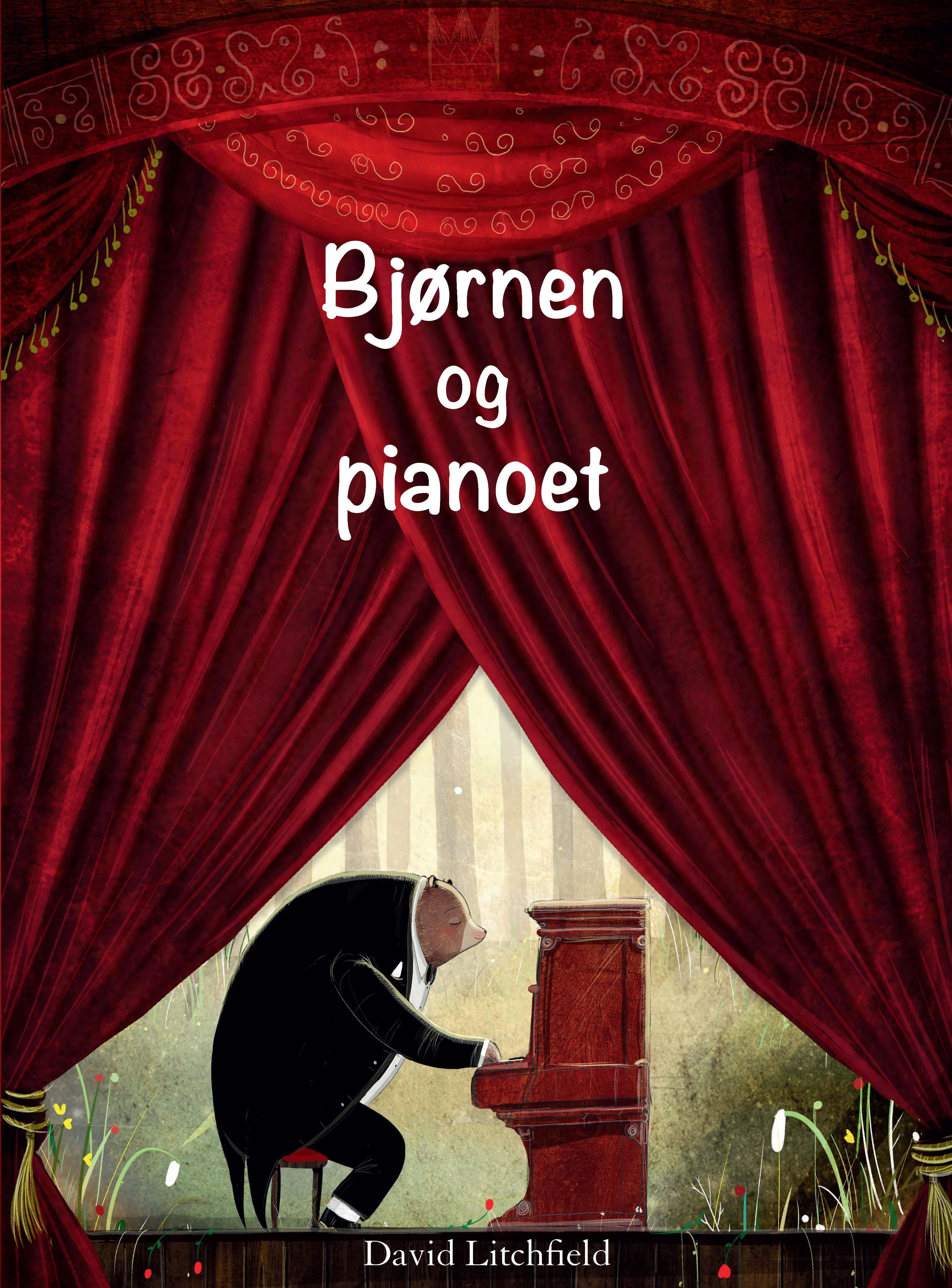 """""""Bjørnen og pianoet"""" av David Litchfield"""