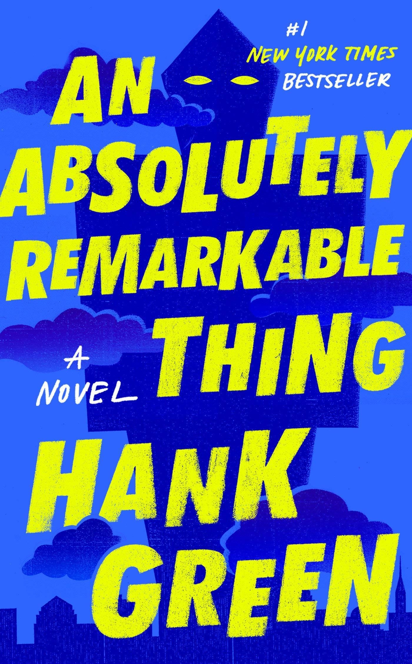 """An absolutely remarkable thing"" av Hank Green"