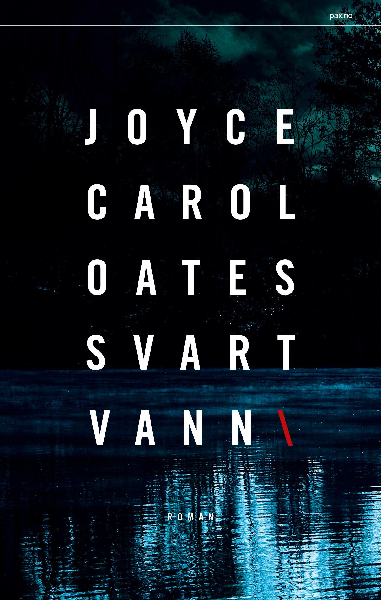 """Svart vann"" av Joyce Carol Oates"