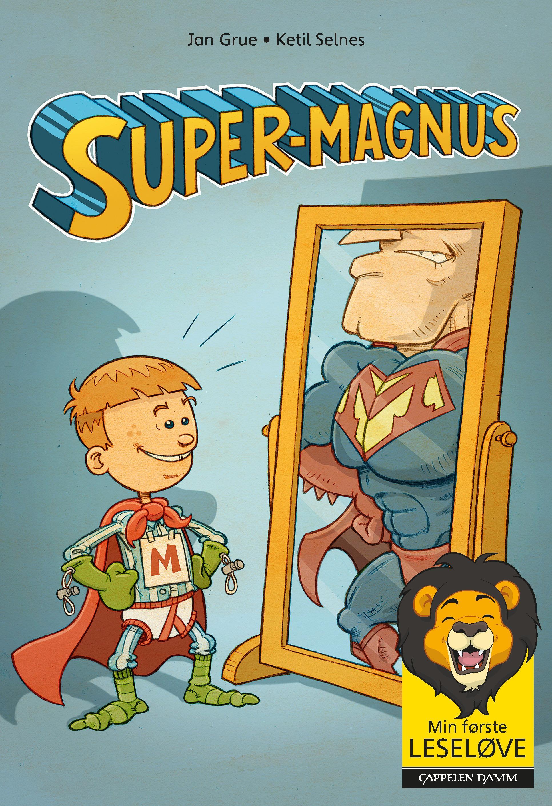"""Super-Magnus"" av Jan Grue"