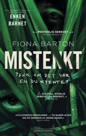 """""""Mistenkt"""" av Fiona Barton"""