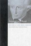 """""""Kritikk av den rene fornuft"""" av Immanuel Kant"""