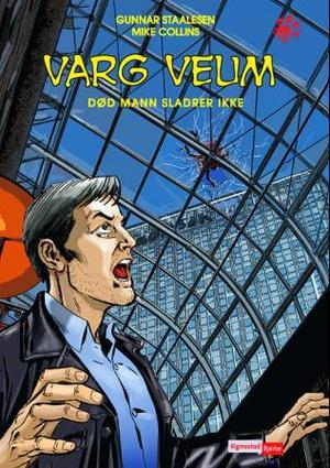 """""""Varg Veum - død mann sladrer ikke"""" av Gunnar Staalesen"""