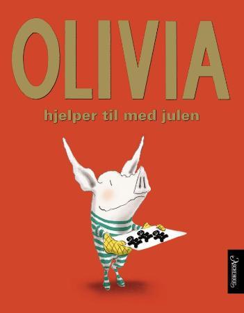 """""""Olivia hjelper til med julen"""" av Ian Falconer"""