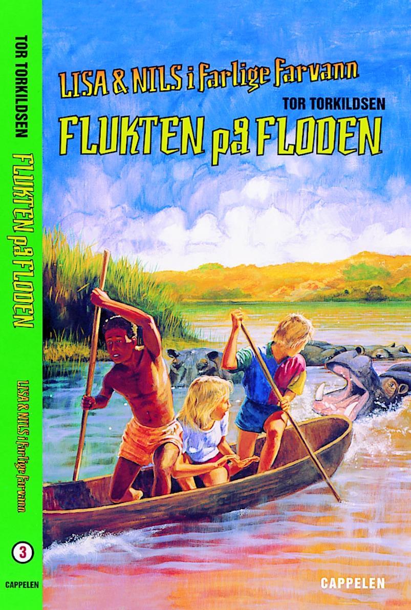 """""""Flukten på floden"""" av Tor Torkildsen"""