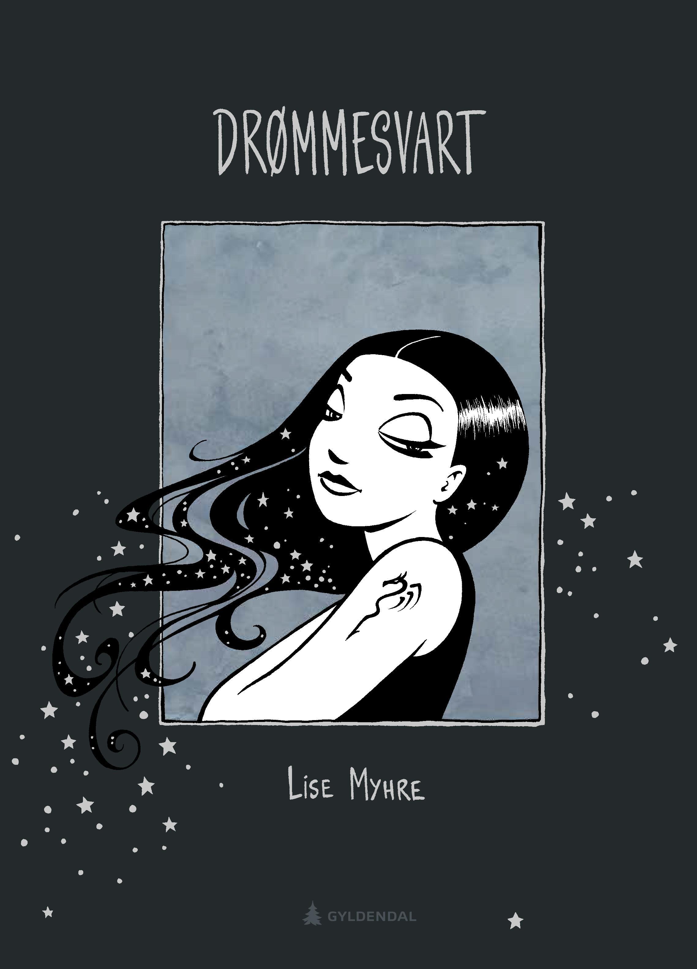 """""""Drømmesvart"""" av Lise Myhre"""