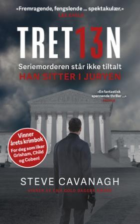 """""""Tretten"""" av Steve Cavanagh"""