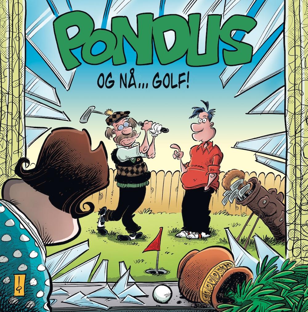 """""""Og nå... golf!"""" av Frode Øverli"""
