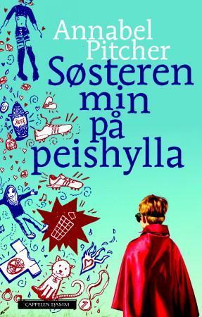 """""""Søsteren min på peishylla"""" av Annabel Pitcher"""