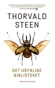"""""""Det usynlige biblioteket - roman"""" av Thorvald Steen"""