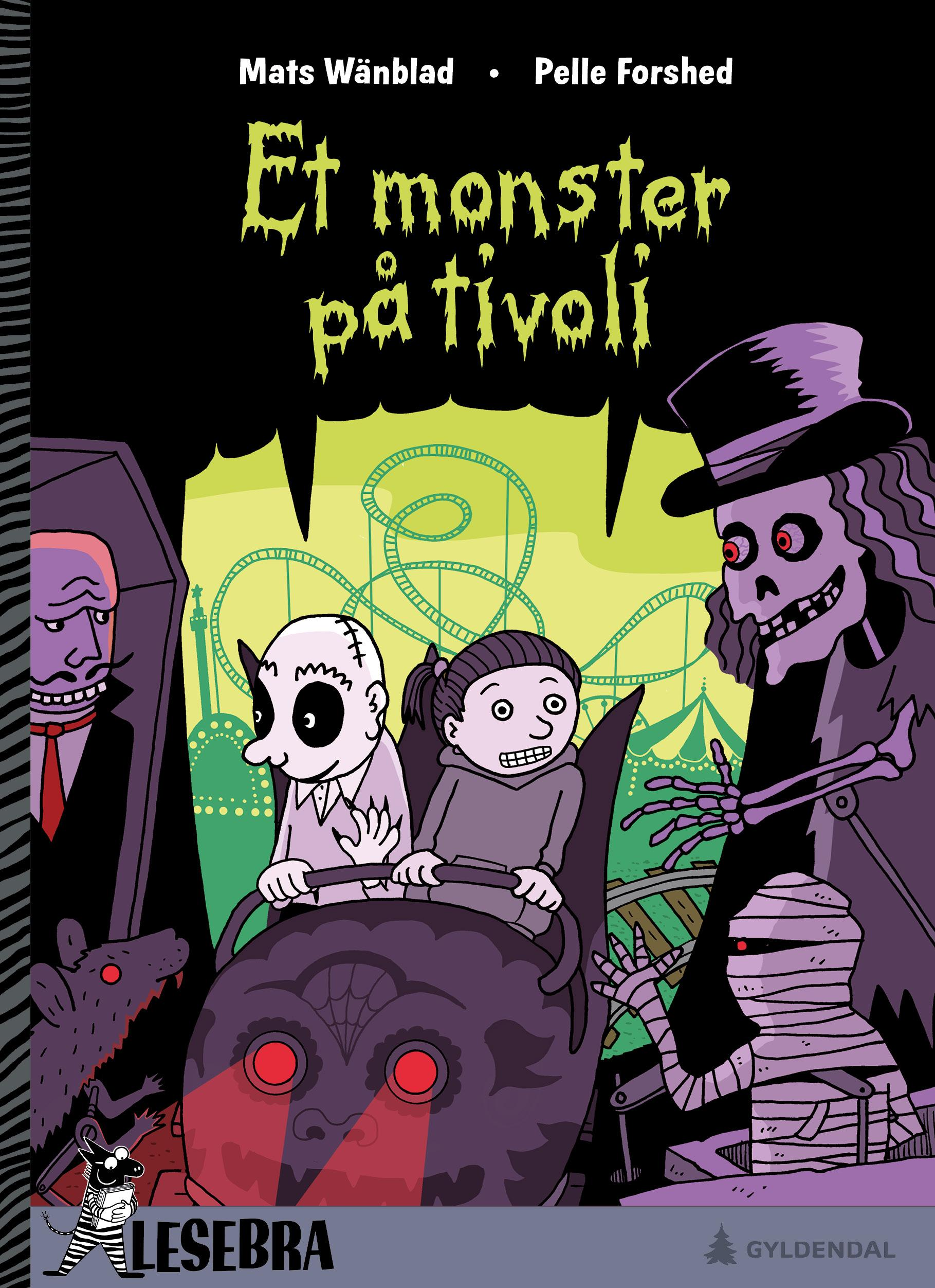 """Et monster på tivoli"" av Mats Wänblad"