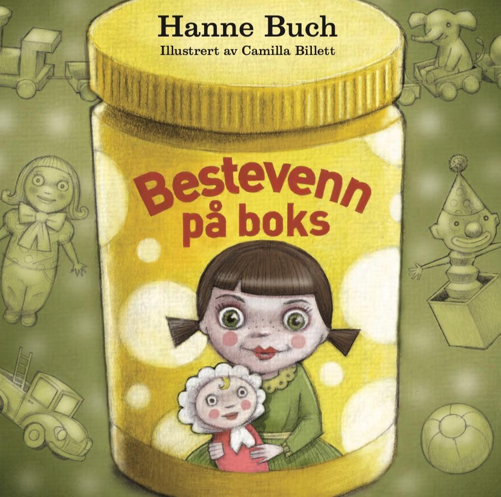 """""""Bestevenn på boks"""" av Hanne Buch"""