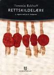 """""""Rettskildelære"""" av Torstein Eckhoff"""