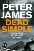"""""""Dead simple"""" av Peter James"""
