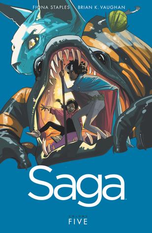 """Saga Volume 5"" av Brian K Vaughan"