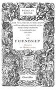 """On Friendship (Penguin Great Ideas)"" av Michel de Montaigne"
