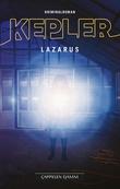 """""""Lazarus kriminalroman"""" av Lars Kepler"""