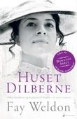 """""""Huset Dilberne. Leseeksemplar til bokhandel"""" av Fay Weldon"""