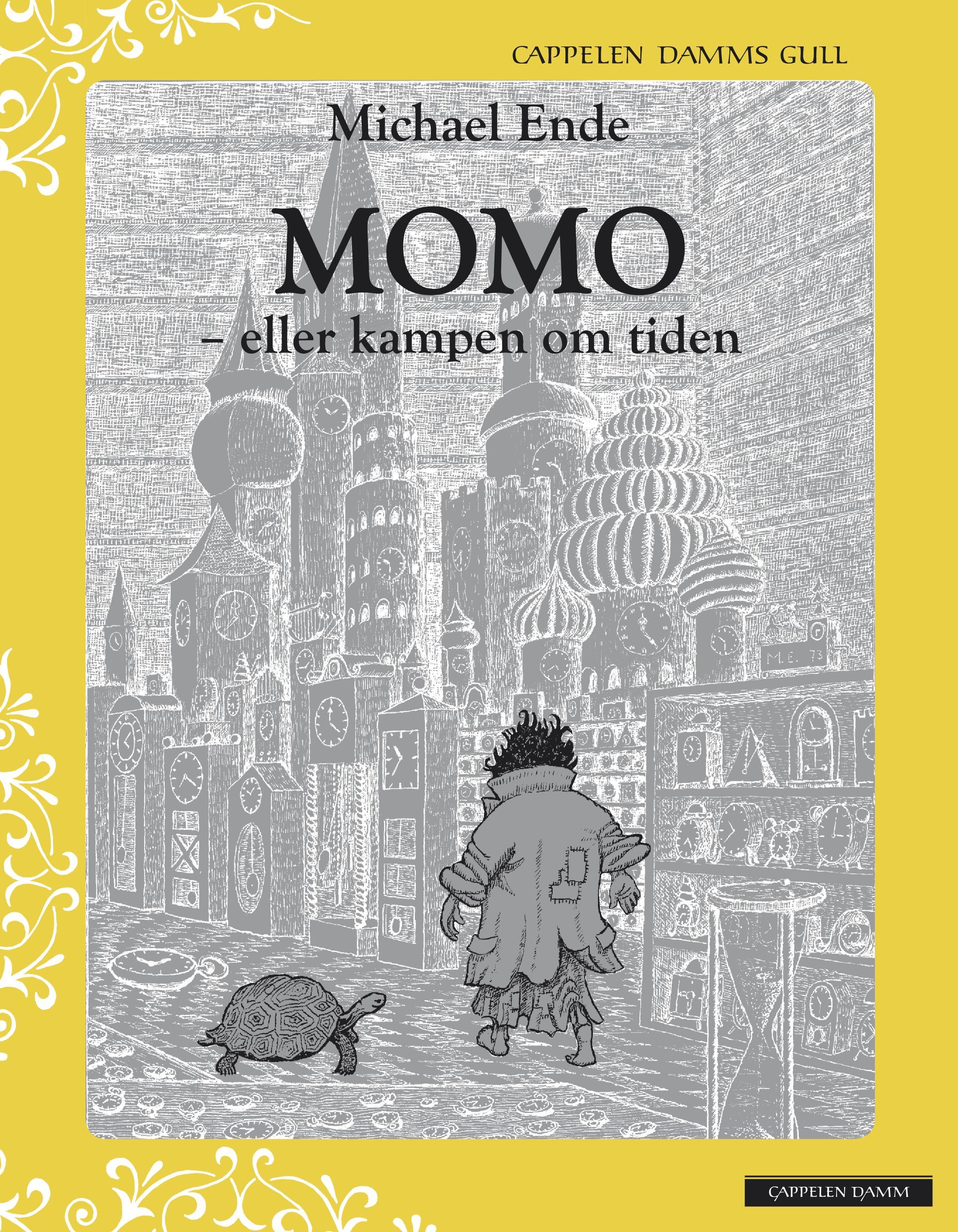 """""""Momo, eller Kampen om tiden"""" av Michael Ende"""