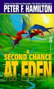 """A second chance at Eden"" av Peter F. Hamilton"