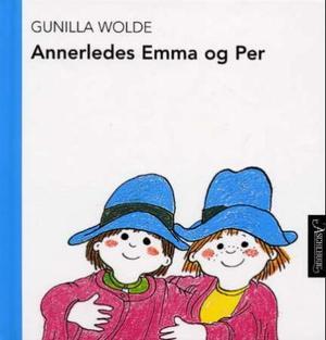 """""""Annerledes Emma og Per"""" av Gunilla Wolde"""
