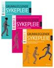 """""""Grunnleggende sykepleie - bind 1-3"""" av Nina Jahren Kristoffersen"""